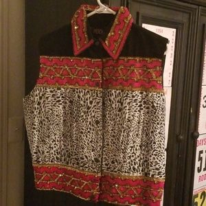 Unique, boutique gorgeous Vest